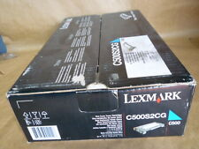 Lexmark C500S2CG Standard Yield Cyan Toner Cartridge GENUINE