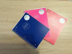 WIDE RULED PAGES NOTEBOOK 70 pages mead all different colors Spiral Notebook
