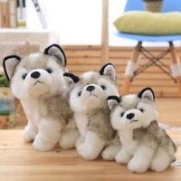 Plush Doll Soft Toy Stuffed Animal Cute Husky Dog Baby Kids Toys Birthday Gift
