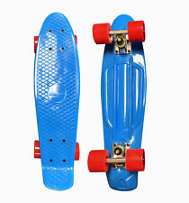 "Blue Penny Board Skateboard w FREE T Tool Combo 22"" Cruiser Board Fast Ship AZM"