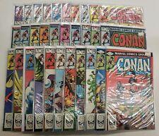 CONAN #137-167 FULL RUN ~ VF-NM 1970 MARVEL COMICS ~ JOHN BUSCEMA