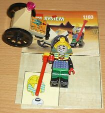 LEGO ADVENTURE 1183 Faraone con carretti V. 1999 + OBA