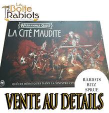 Warhammer Quest Cursed city Vente au détails Rabiot Bitz sprue