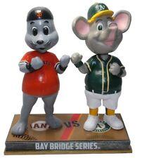San Francisco Giants Oakland Athletics Lou Seal Stomper Rivalry Bobblehead MLB