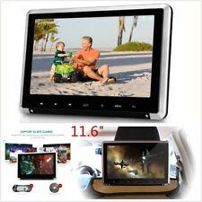 "11.6"" 1080P HD Car Monitor Headrest Car DVD Player W/ HDMI/FM/IR/USB/SD/Game Por"
