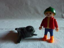 PLAYMOBIL  animaux personnage bateau mer océan zoo enfant le garçon et l'otarie