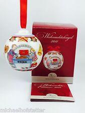 Hutschenreuther Porzellan Weihnachtskugel Kugel 2011 Verpackung beschädigt!