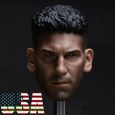 "1/6 Punisher Head Sculpt Jon Bernthal For 12"" Hot Toys PHICEN Male Figure ❶USA❶"