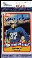 Doak Walker Jsa Coa Autographed 1989 Swell Authentic Hand Signed Smu Lions