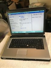 Toshiba Satellite L305-S5919 Laptop No HDD, 1GB, For Parts Or Not Working