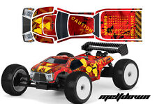 RC Body Graphics Kit Decal Sticker Wrap For Proline Bulldog MBX6-T MELTDOWN Y R