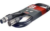 Stagg High Quality Microphone Cable XLR - XLR Plug - 10m 33 Feet SMC10 BRAND NEW