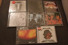METALLICA COLLECTION 8 CD's  NEW SEALED Polish Stickers