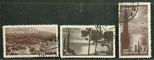 RUSSIA USSR CCCP 1938 Very Fine Used Hinged Stamps Scott # 666- 669