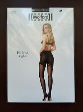 New Wolford Tights Helena Tights Size M Black