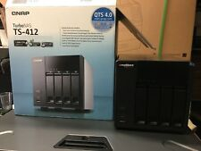 QNAP TS-412 Turbo NAS 4-Bay Network Attached Storage Server + AC