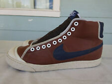 Classic 2007 Mens sz 9 Nike All Court High Shoes Brown Hi Top 316385 141