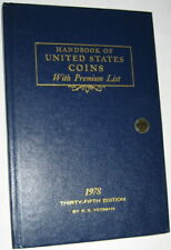 1975 Blue Book A HandBook of United States Coins Dealer Guide 32nd Edition