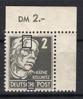 DDR MiNr. 327 za XII mit PF III - postfrisch - tiefst gepr. Paul BPP - (GM973)
