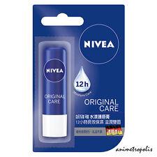 Nivea Original Care 12h Moisture Lip Balm with Shea Butter & Panthenol 4.8g New