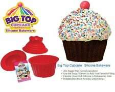 JML BIG TOP GIANT CUPCAKE MOULD JUMBO SILICONE BIRTHDAY CUP CAKE BAKEWARE BAKING