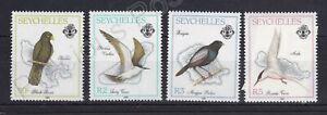 SEYCHELLES MNH STAMP SET 1989 ISLAND BIRDS SG 755-758