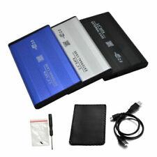"""USB 3.0/2.0 SATA Caja externa 2,5 """"disco duro HDD disco movil Caja Estuche"""