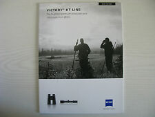 ZEISS VICTORY HT LINE BINOCULARS & RIFLESCOPES 2015 BROCHURE