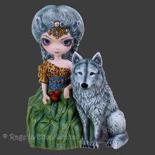 LOUP GAROU Strangeling Wolf Maiden Figurine By Jasmine Becket-Griffith (16.5cm)