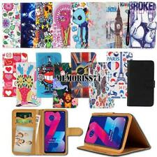 For Various Vivo SmartPhones Folio Leather Stand Wallet Cover Case + Strap