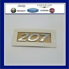 NEW Genuine PEUGEOT 207 BADGE Logo 2007-2012 Hatchback CC Estate Saloon Sport SW