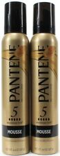 2 Pantene Pro-V Style Series Maximum Hold Humidity Resistance Mousse 6.6oz Cans