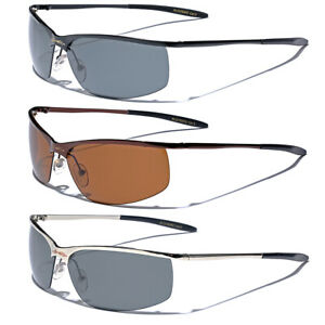 Polarized Men's Sunglasses Fishing Golf Driving Sports Anti Glare Glasses