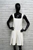 Vestito Bianco PATRIZIA PEPE Donna Taglia S Abito Dress Woman White Maglia Abito