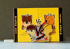 Street Fighter Enamel Key Chain Kidrobot Ryu Grey Vs Sagat Red
