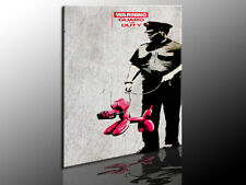 Bild auf Leinwand Banksy Graffiti Street Art  Kunstdruck, Wandbild, k. Poster 35
