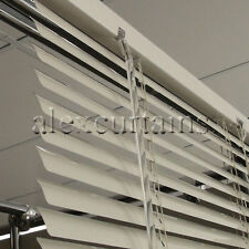 Aluminium Venetian Blinds, Size: 150x210cm, 25mm Slat, Colour: Ivory