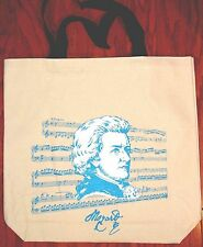 Tote Bag For Sheet Music Or Song Books New Mozart Ivory