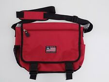 Vintage Polo Jeans Co Ralph Lauren Red Crossbody Messenger Bag