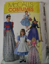 McCall's M4948 Sewing Pattern Size Adult SM-XL Used Princess Dorothy Queen Witch
