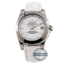 Breitling Galactic Sleek T W7433012/A779 Quartz Steel Tungsten MOP Ladies Watch