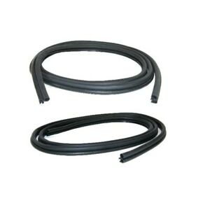 Door Rubber Weatherstrip Seal for 1987-96 Dodge Dakota Driver side and Pass side