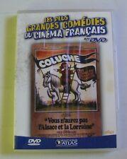 DVD VOUS N'AUREZ PAS L'ALSACE ET LA LORRAINE - COLUCHE