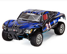 RC Trucks Gas Powered Cars Nitro Fuel 4x4 Short Course Redcat Vortex SS 4WD Blue