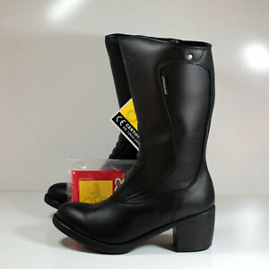 TCX Lady Classic Waterproof Women's Motorcycle Boots Black US 4.5 EU 36
