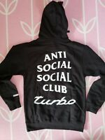 Anti Social Social Club ASSC Neighborhood 911 Turbo Hoodie SOLD OUT IN HAND NEW