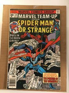Marvel Team Up #50 Spider-man & Dr. Strange! I combine Shipping!