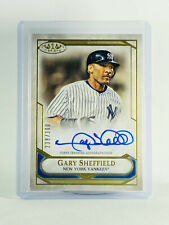 New listing 2021 Topps Tier One Gary Sheffield On Card Auto #238/300