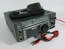 Icom IC-735 HF Ham Radio Transceiver w/ Microphone + Power Cable (good shape)