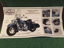 "Danbury Mint ""The 1948 Indian Chief!""  Brochure."